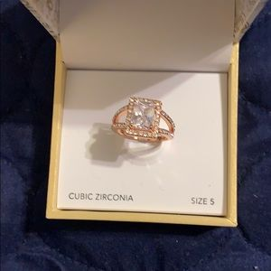 Size 5  Rose Gold Ring